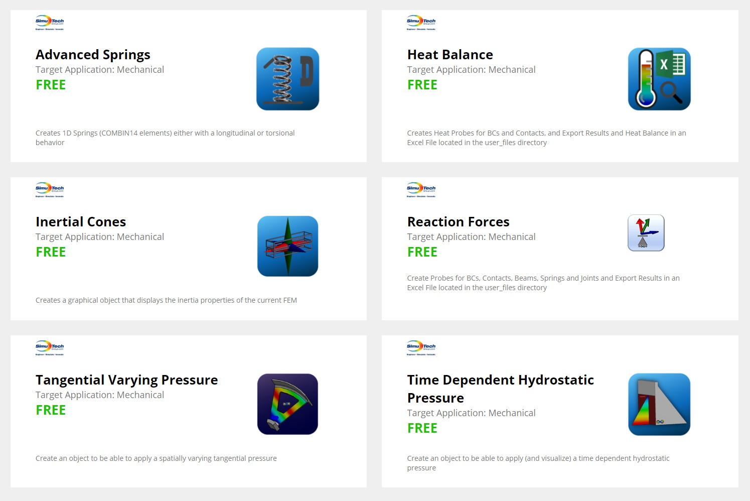 6 Apps on the ANSYS AppStore – ooSoft
